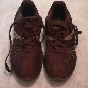 Brown sneakers size 8.5 W
